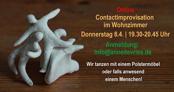 Online – 8.4. Contactimprovisation im Wohnzimmer