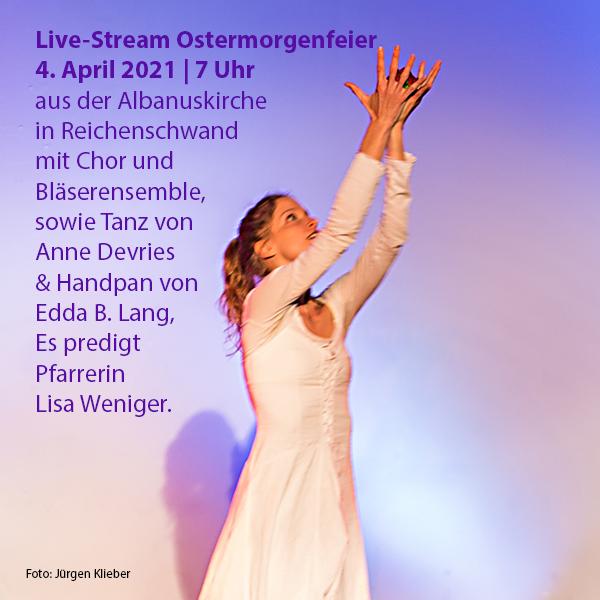 Online-Video Ostermorgenfeier mit Tanz & Musik