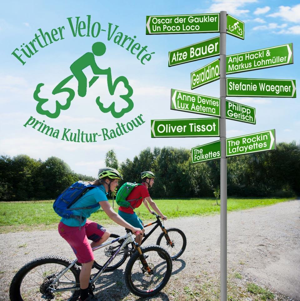 Erstes Fürther Velo-Varieté am 4.Juli 2021 – die prima Kultur-Radtour